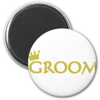 groom refrigerator magnets