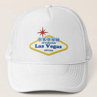 GROOM OF LAS VEGAS Trucker Hat