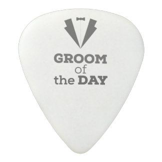 Groom of the Day Ziwph Acetal Guitar Pick