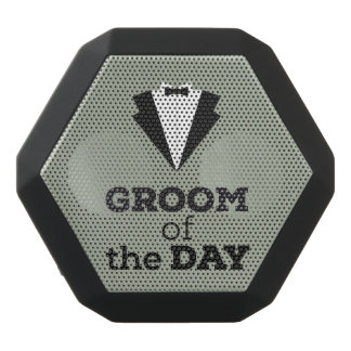 Groom of the Day Ziwph Black Bluetooth Speaker