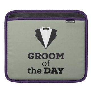 Groom of the Day Ziwph iPad Sleeve