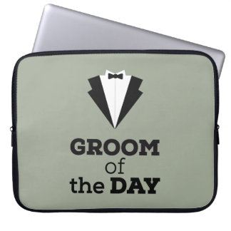 Groom of the Day Ziwph Laptop Computer Sleeves