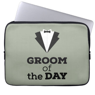 Groom of the Day Ziwph Laptop Sleeves