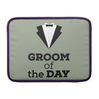 Groom of the Day Ziwph MacBook Air Sleeve