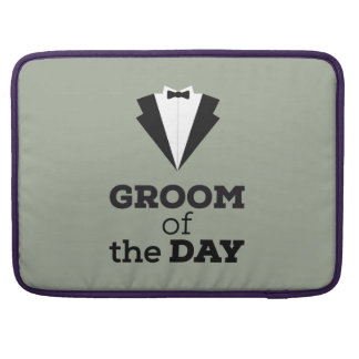 Groom of the Day Ziwph Sleeve For MacBook Pro