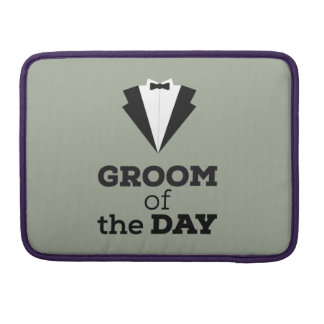 Groom of the Day Ziwph Sleeve For MacBooks