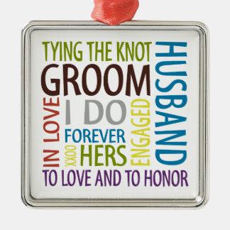 Groom Ornament