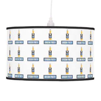 Groom Party Beer Bottle Z77yx Pendant Lamp