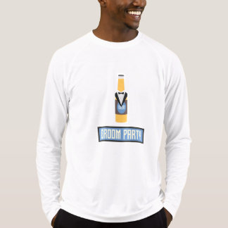 Groom Party Beer Bottle Z77yx T-Shirt