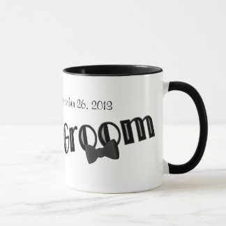 Groom Personalized Wedding Coffee Mug