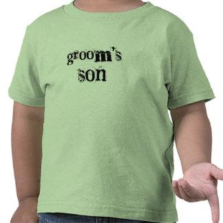 Groom s Son Black Text Tshirt