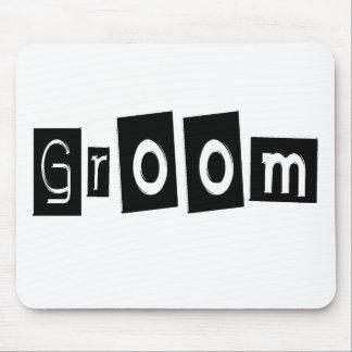 Groom (Sq Bllk) Mouse Pad