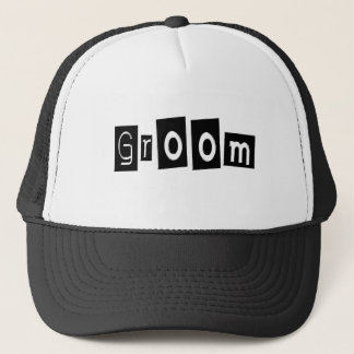 Groom (Sq Bllk) Trucker Hat