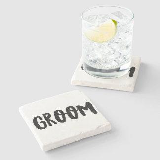 Groom Stone Coaster