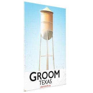 Groom Texas Route 66 Americana travel print