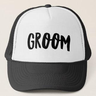 Groom Trucker Hat