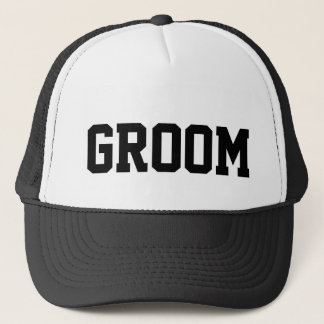 Groom Trucker Hat