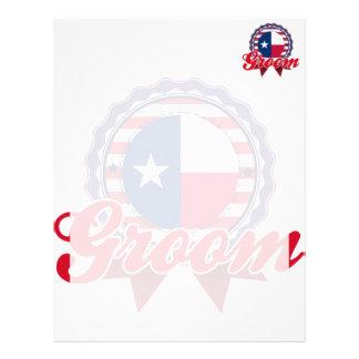 Groom, TX Letterhead Template