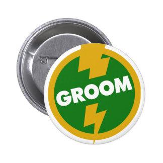 Groom Wedding - Dupree 2 Inch Round Button