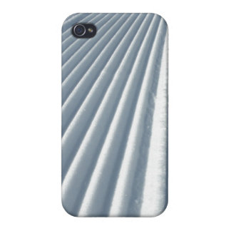 Groomed Snow Ski Trail Cases For iPhone 4