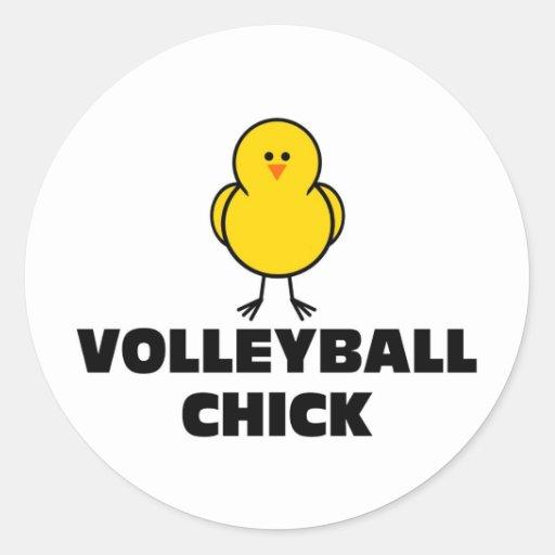 Groomer Chick Sticker