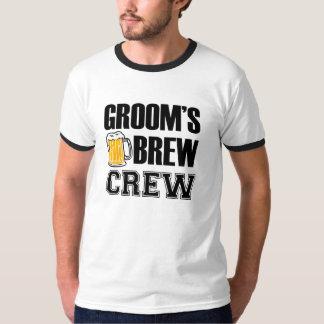 Groom's Brew Crew Groomsmen Shirt