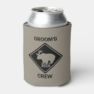 Groom's Crew Bachelor Party Favours Can Cooler