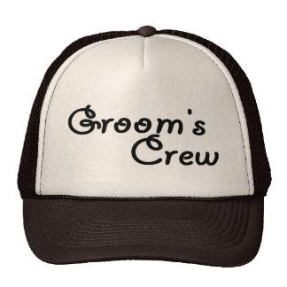 Grooms Crew Hat