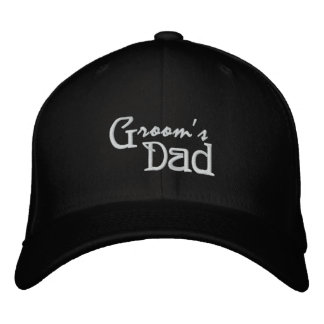 Groom's Dad Embroidered Hat