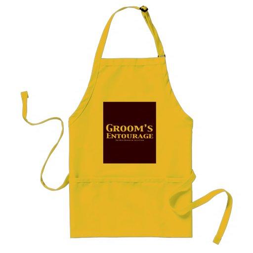 Groom's Entourage Gifts Apron