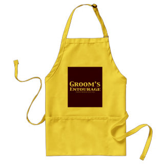 Groom's Entourage Gifts Standard Apron
