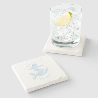 Groom's mates stone coaster