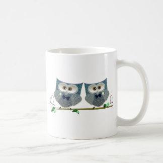 Grooms Owls Wedding Gifts Classic White Coffee Mug