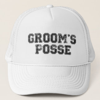Groom's Posse Ball Cap
