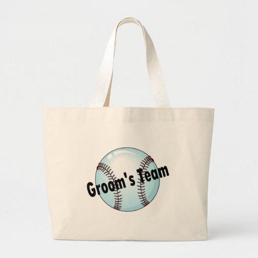 Groom's Team (Baseball) Bag