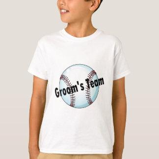 Groom's Team (Baseball) T-Shirt