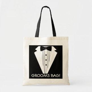 Grooms Wedding Tote Bag