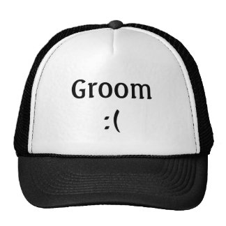 Groom's Wedding Trucker Hat
