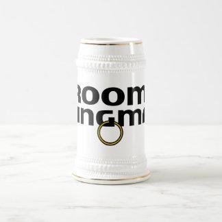 Grooms Wingman Bachelor Party Stein 18 Oz Beer Stein
