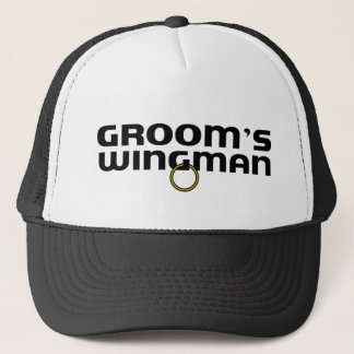 Grooms Wingman Bachelor Party Trucker Hat