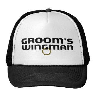 Grooms Wingman Bachelor Party Trucker Hat