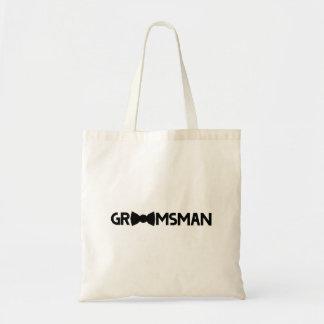 Groomsman Budget Tote Bag