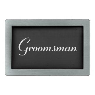 Groomsman Belt Buckle
