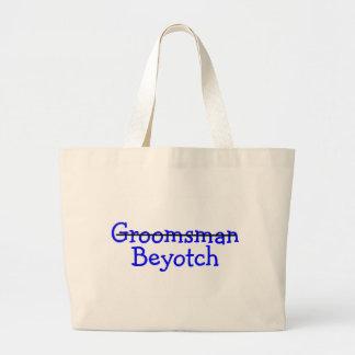 Groomsman Beyotch Bags