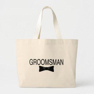 Groomsman Bowtie Tote Bag