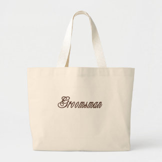 Groomsman Classy Browns Canvas Bag