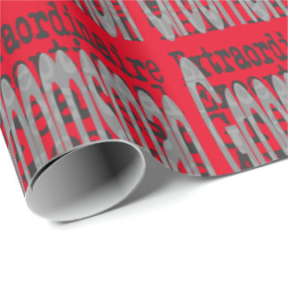 Groomsman Extraordinaire Wrapping Paper