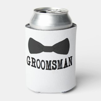 GROOMSMAN For Him Wedding Can Cooler