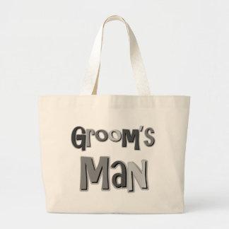 Groomsman Gray Bags
