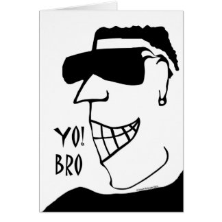 Groomsman Invitation, Yo! Bro You're Needed Greeting Card